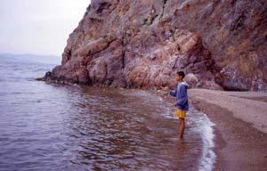 Une pointe de roche : une valeur sûre pour rechercher le loup ou bar.