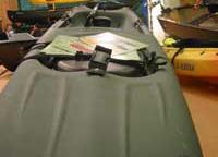 Le stand Johnson : Kayak Prowler de chez Ocean Kayak