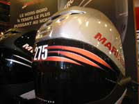 Le stand des moteurs Mercury - Mariner